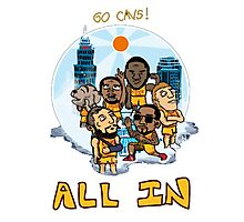 CAVS ALL IN Photographic Print