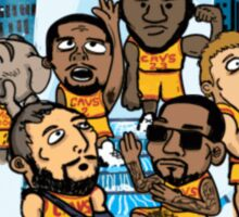 CAVS ALL IN Sticker