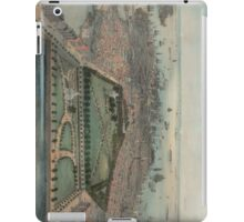 Vintage Pictorial Map of Boston MA (1850) iPad Case/Skin