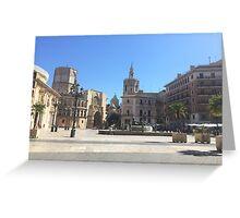 Plaza de la Reina Greeting Card