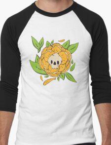 Skull Garden: Skull Peony Men's Baseball ¾ T-Shirt