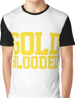 GOLD BLOODED WARRIORS Graphic T-Shirt