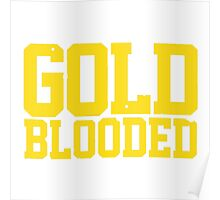 GOLD BLOODED WARRIORS Poster