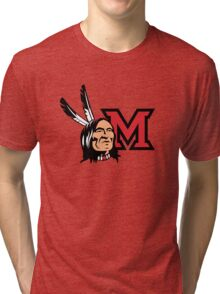 Miami Redskins Tri-blend T-Shirt