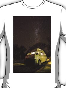 Campervan in the night T-Shirt
