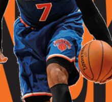 NY KNICKS WITH MELO Sticker