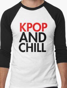 Kpop and Chill Men's Baseball ¾ T-Shirt