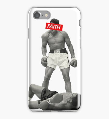 Muhammad Ali Faith Merchandise iPhone Case/Skin