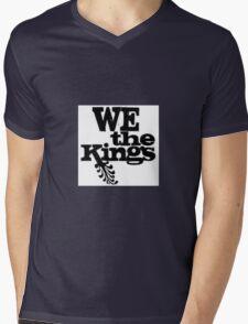 We The Kings Logo Mens V-Neck T-Shirt