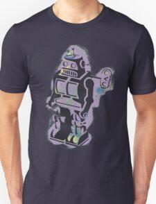 Robot Stencil Unisex T-Shirt