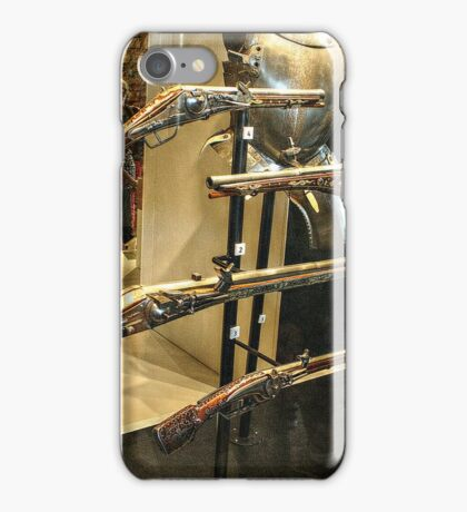 Antique Guns and Medieval Armour iPhone Case/Skin