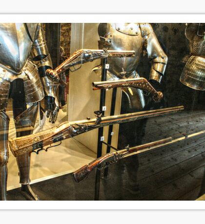 Antique Guns and Medieval Armour Sticker