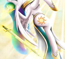 Celestia, Lightsworn Princess by SpiritofthwWolf