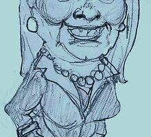 Hillary Clinton poised for the Presidency? by humorousart