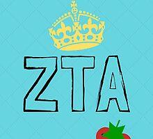 ZTA, Sorority Phone Case by choatically