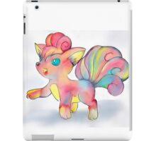 Rainbow Fire Fox (Vulpix) iPad Case/Skin