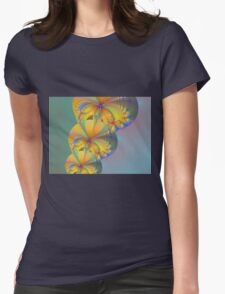Balloons Of Colors Womens Fitted T-Shirt