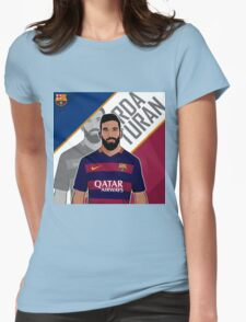 Arda Turan 7 Womens Fitted T-Shirt