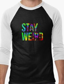 Stay Weird Men's Baseball ¾ T-Shirt