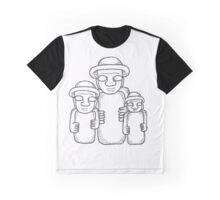 Korean Stone Grandfathers Graphic T-Shirt