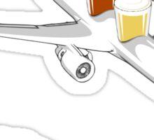 Beer Flight Sticker