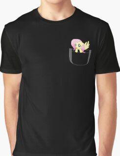 Pocket Fluttershy Graphic T-Shirt