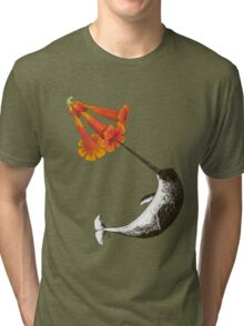 Feeding Habits of the Narwhal Tri-blend T-Shirt