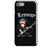 Lemmy Rocks iPhone Case/Skin