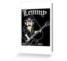 Lemmy Rocks Greeting Card