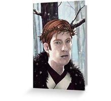 -Winter- Greeting Card