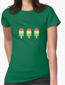 Popsicle Womens Fitted T-Shirt
