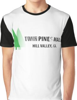 Twin Pines/Lone Pine Mall – BTTF, Optical Illusion Graphic T-Shirt