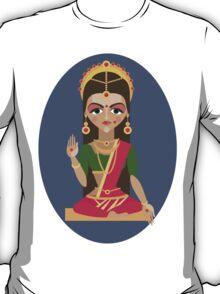 illustration of Hindu deity mother Parvati T-Shirt