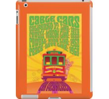1960's Psychedelic San Francisco Cable Car iPad Case/Skin