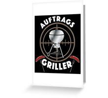 Profi Griller Greeting Card