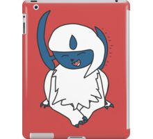 Happy Absol! iPad Case/Skin