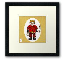 The Halfman Framed Print