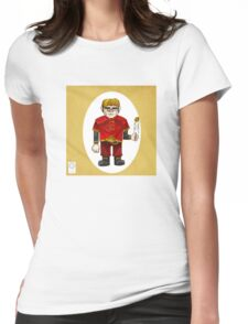 The Halfman Womens Fitted T-Shirt