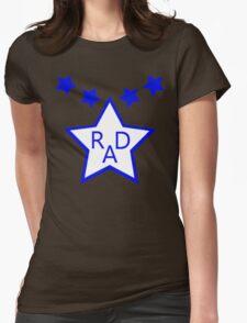 RAD 1986 BMX MOVIE HOODIE Womens Fitted T-Shirt
