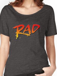 RAD BMX MOVIE 1986 Women's Relaxed Fit T-Shirt