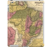 Vintage Map of Brazil (1846) iPad Case/Skin
