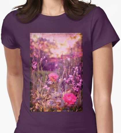 Last Year's Garden Womens Fitted T-Shirt
