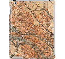 Vintage Map of Bremen Germany (1910) iPad Case/Skin