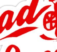 RAD BMX MOVIE HAND MADE Sticker