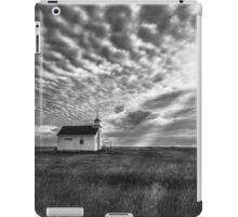 Saskatchewan School House - BW iPad Case/Skin