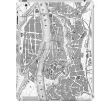 Vintage Map of Bremen Germany (1865) iPad Case/Skin