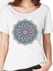 Mandala - Circle Ethnic Ornament Women's Relaxed Fit T-Shirt