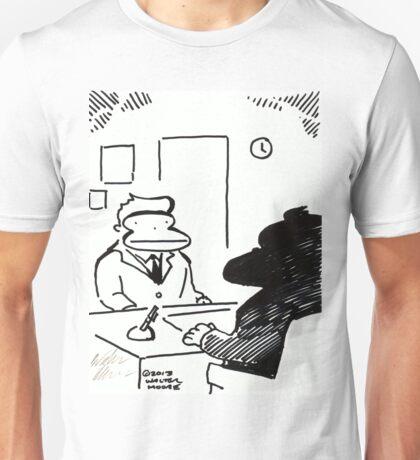 Job Interview Ape Unisex T-Shirt