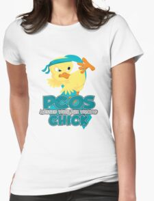 PCOS Messed With The Wrong Chick Womens Fitted T-Shirt
