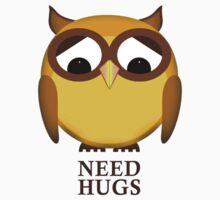 Sad owl needs hugs One Piece - Short Sleeve